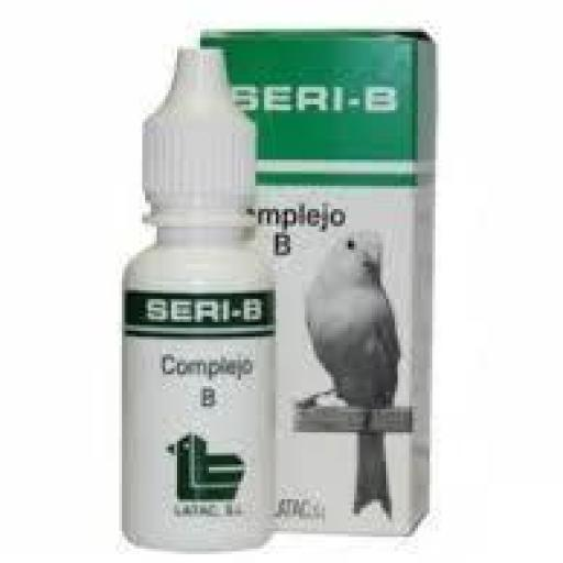 SERI B 15 ml. (Vitaminas Grupo B para Aves)