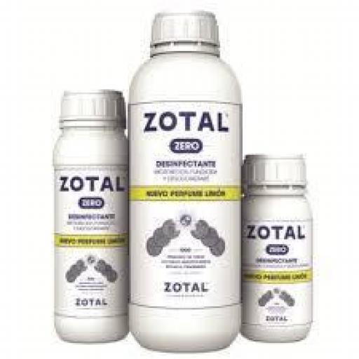 ZOTAL ZERO LIMÓN 1 litro (COVID-19)