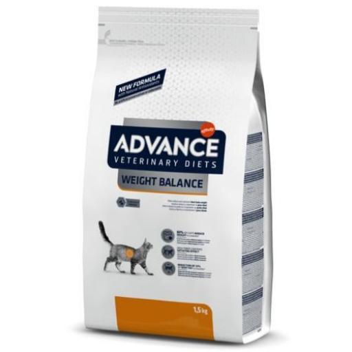 Advance Weight Balance Gatos Veterinary Diets