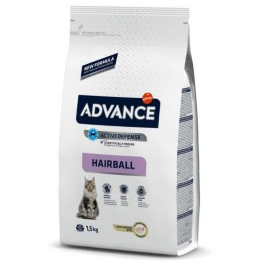Advance Hairball Gatos