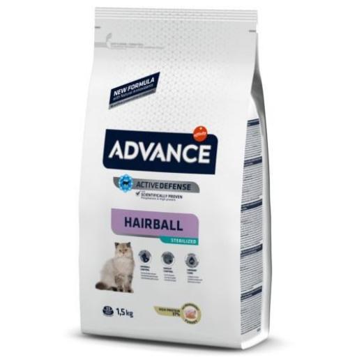 Advance Gatos Sterelized Hairball