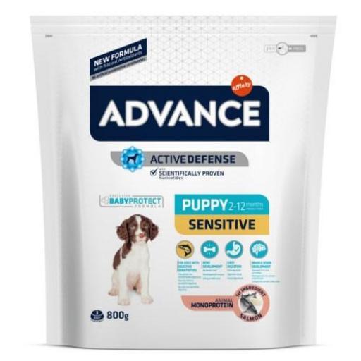 Advance Puppy Sensitive con Salmón