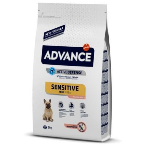 Advance Mini Sensitive Perros Salmón y Arroz