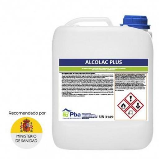 ALCOLAC PLUS 5 L **ESPECIAL RECOMENDADO POR EL MINISTERIO**