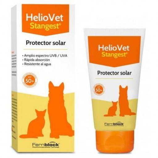 HELIOVET Protector Solar Perro y Gato 50 ml.