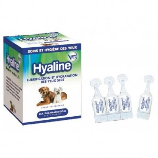 HYALINE VET 28 Uds X 2 ml. Lubricación/Hidratación Ojo Seco Perro y Gato