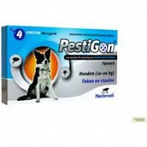 Antiparasitario Externo Pestigon Perros Medianos 10-20 kg