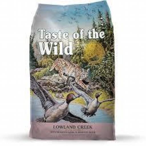 TASTE OF THE WILD Feline Adult Lowland Creek Codorniz