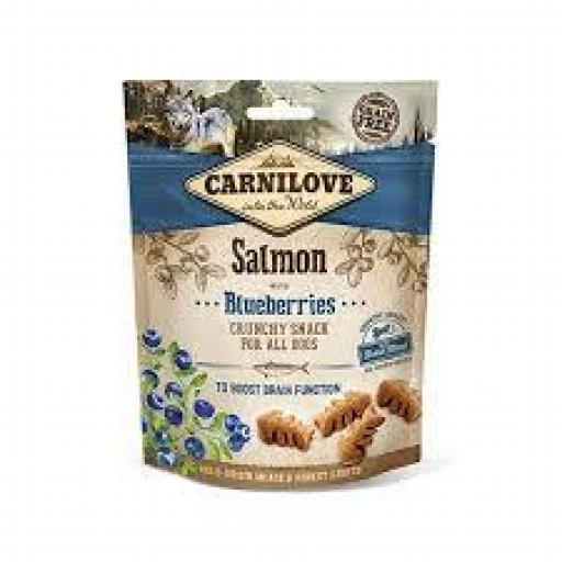 Carnilove Snacks Perro Crunchy Salmon & Arandanos