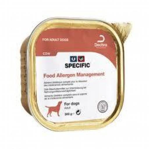 Specific Canine CDW Food Allergy Management