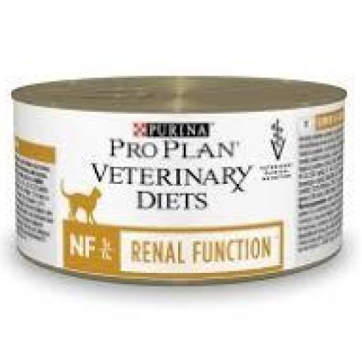 Purina ProPlan Veterinary Diet Feline NF (Renal) Lata 24 x 195 grms.
