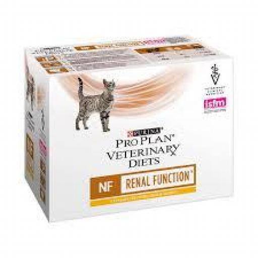 Purina ProPlan Veterinary Diet Feline NF (Renal) Pollo Sobre 10 x 85 grms.