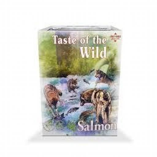 TASTE OF THE WILD Pacific Stream Tarrina Salmón & Frutas (7x390 grms)