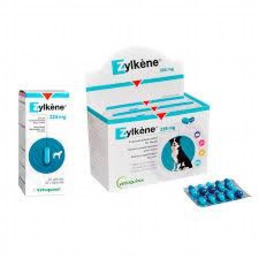 ZYLKENE 225 mg. Tranquilizante Natural Perros Medianos