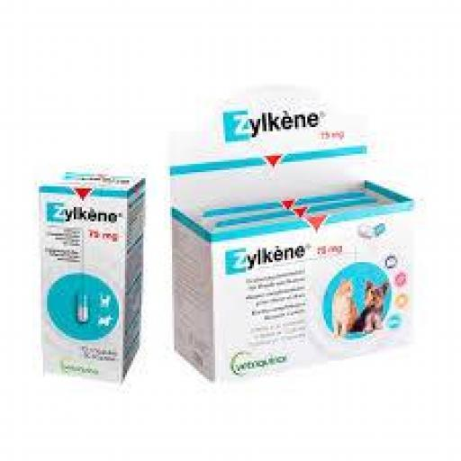 ZYLKENE 75 mg. Tranquilizante Natural Gatos & Perros Pequeños