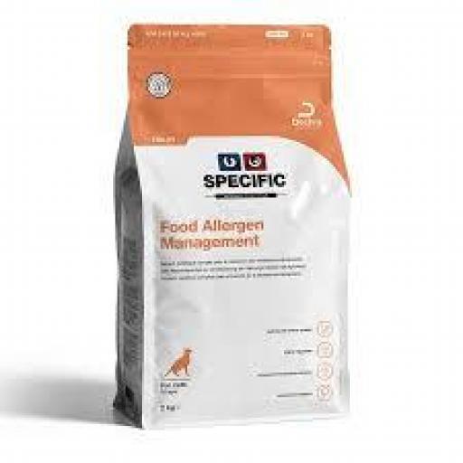 Specific Feline FDD-HY Food Allergen Management