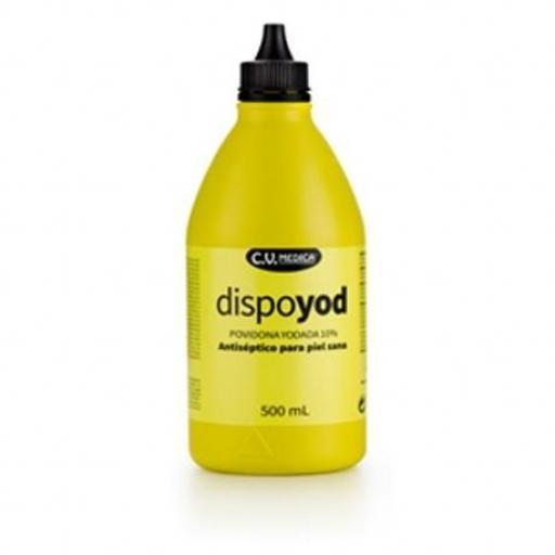 DISPOYOD POVIDONA SOLUCION 10 % 500 ml.