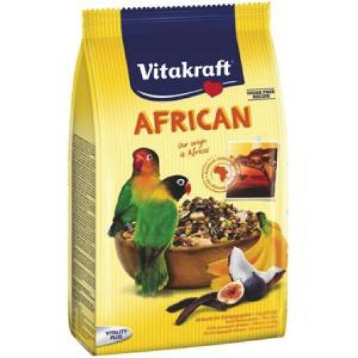 Vitakraft Menu AFRICAN Agapornis 750 grms.