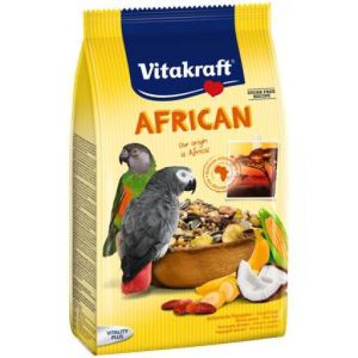 Vitakraft Alimento Completo Loros Grises Africanos 750 grms.