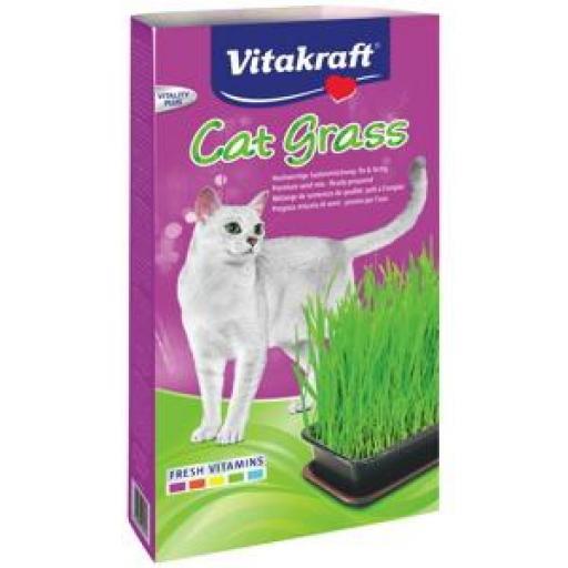 Vitakraft Cat Grass Hierba Gatera 120 grms.