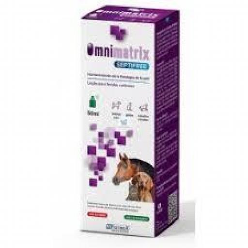 OMNIMATRIX SEPTIFREE Spray 50 ml Cicatrizante para Perros, Gatos y Caballos