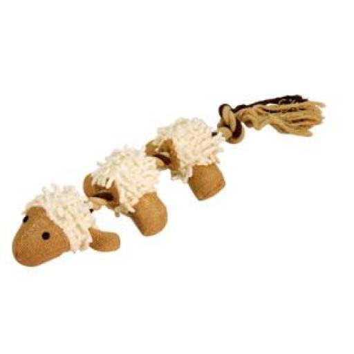Juguete Peluche con Forma de Oveja con cuerda 39 cms.
