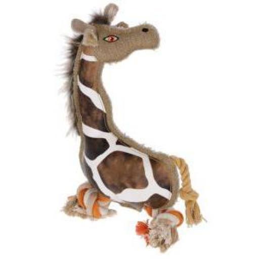 Juguete Girafa Gina para Perro 29 cms.