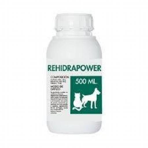 REHIDRAPOWER líquido hidratador para perros y gatos
