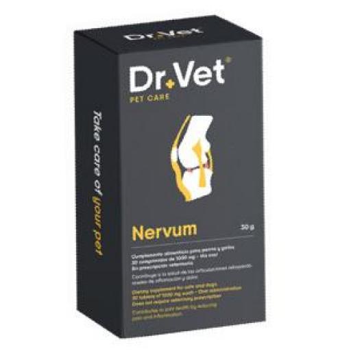 NERVUN 30 Comprimidos Inflamacion y Dolor Articular Perros y Gatos