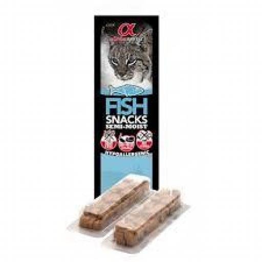 Alpha Spirit Snack Pescado Gatos