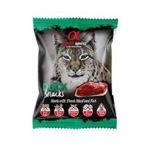 Alpha Spirit Snacks De Pato Gatos Bolsa