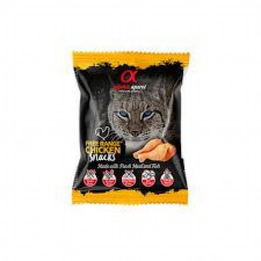 Alpha Spirit Snacks De Ave De Corral Gatos Bolsa