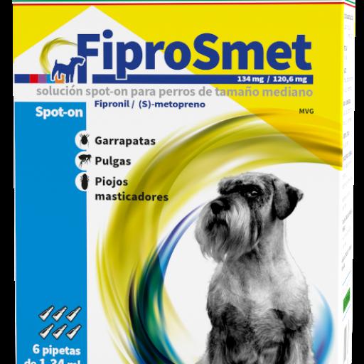 FIPROSMET Perros Medianos 6 Pipetas 1,34ML