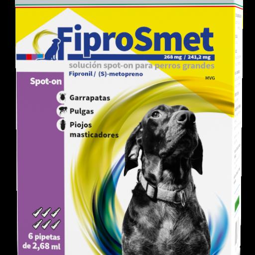 FIPROSMET Perros Grandes 6 pipetas 2,68 ml.