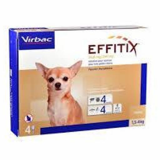 Effitix Pipetas Perros Muy Pequeños 1.5-4 Kg