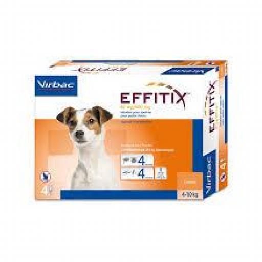 Effitix Pipetas Perros Pequeños 4-10 Kg