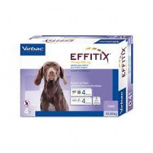 Effitix Pipetas Perros Medianos 10-20 Kg