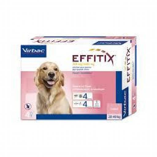 Effitix Pipetas Perros Grandes 20-40 Kg