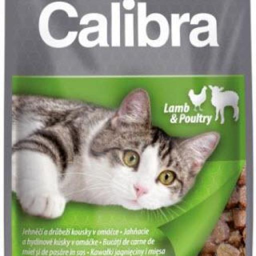 Calibra Sobre Gato Adulto Cordero Y Pollo En Salsa