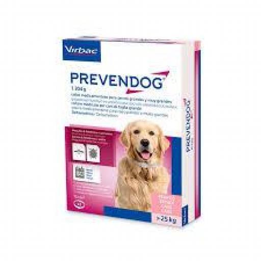 Prevendog Collar Antiparasitario Virbac Perros De Más De 25kg