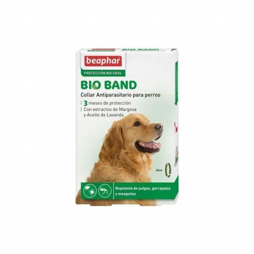 Beaphar Collar Repulsivo Bio Band Con Extractos De Margosa Perro
