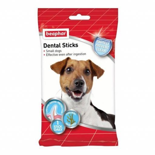Beaphar Dental Stick Perro Pequeño 7unidades