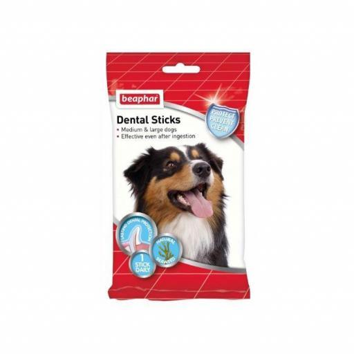 Beaphar Dental Stick Perro Mediano-Grande 7unidades