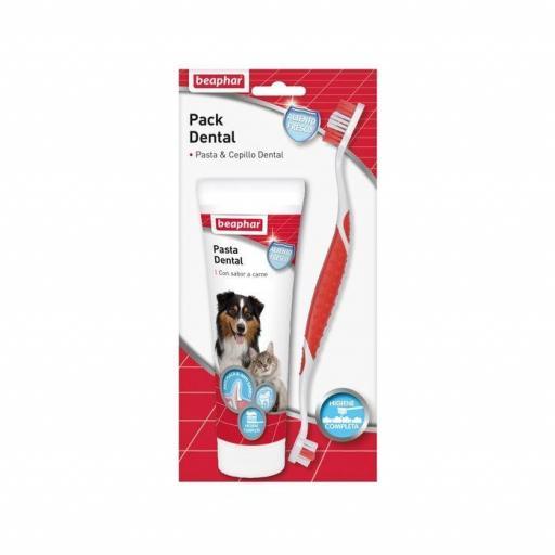 Beaphar Pack Dental: Pasta Dental Y Cepillo