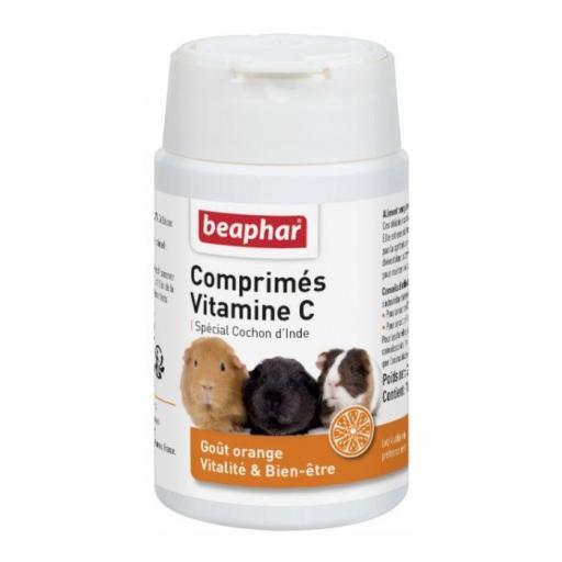 Beaphar Vitamina C En Comprimidos Cobayas