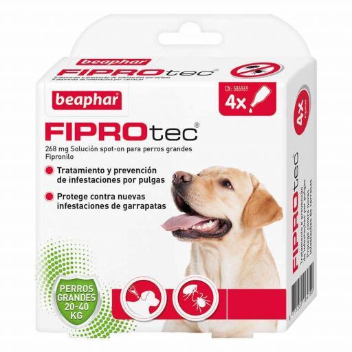 Antiparasitario Externo Beaphar FiproTec Perro Grande 20-40kg