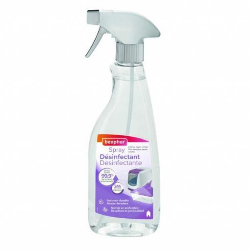 Beaphar Spray Desinfectante 500 ml.