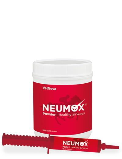 NEUMOX Vetnova (Funcionalidad Pulmonar y Rendimiento Caballo)