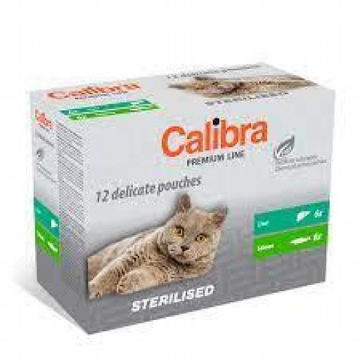 Calibra Sobres Gato Esterilizado Multipack En Salsa