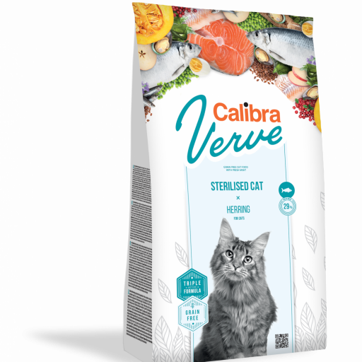 Calibra Cat Verve Adult 8+ Grain Free Cordero Y Venado